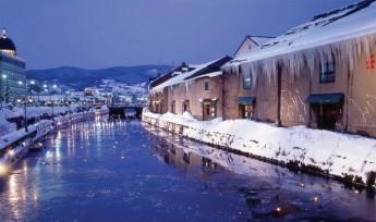 北海道小樽运河。