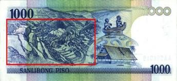 2002年版菲律宾1000比索纸币。