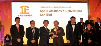 APPLE Awarded by SCBEA 8th oct 2013