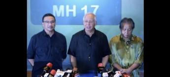 各国领袖纷纷致哀 俄罗斯总统普汀向首相拿督斯里纳吉致哀,对马航MH17坠毁表示哀伤。  普汀是通过克林姆宫网站发表文告,向纳吉及大马致哀。  新加坡总理李显龙对马航MH17坠毁感到震惊与难过,同时对机组人员与乘客,及其家属致哀。  荷兰首相马克鲁特对MH17坠毁感到非常震惊,也向罹难者家属致哀。 大马方面: 首相拿督斯里纳吉: 我对马航客机坠毁大感震惊,我们将即刻展开调查。  副首相丹斯里慕尤丁: 为MH17机上乘客和机组人员祈祷。  交通部长拿督斯里廖中莱: 我们仍在调查,一旦掌握资料,将会提供相关资料。  马华组织秘书长姚伟豪: 交通部长廖中莱目前正从北京在赶回吉隆坡,处理新的飞机事件。  联邦直辖区部长拿督斯里东姑安南: 向所有MH17乘客家属致哀,希望我们全部得到力量去面对它。  民主行动党国会领袖林吉祥: 似乎不太可能,它可以在短距离范围内,被便携式防空导弹(Manpad)击落。  人民公正党主席蔡添强: 向MH17乘客及机组人员致以深切哀悼。 (马新社)