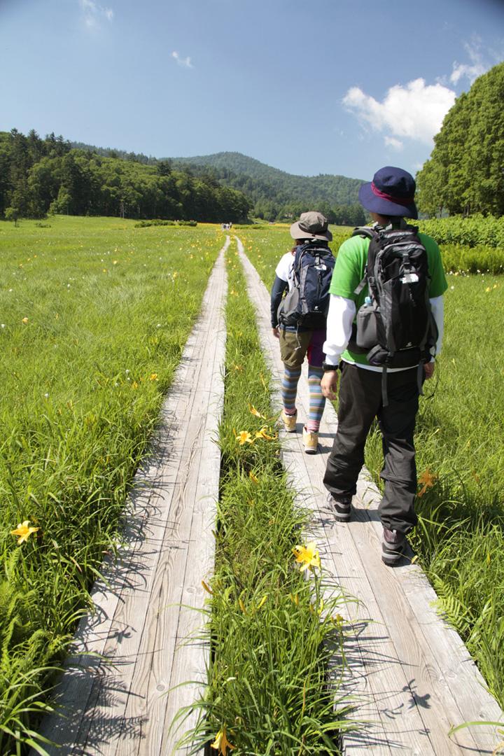 """日本人登山时,习惯沿途亲切地与往返的登山客打招呼,一声简单的""""Ohayo(你好)""""就像是要给对方加油打气一样!"""