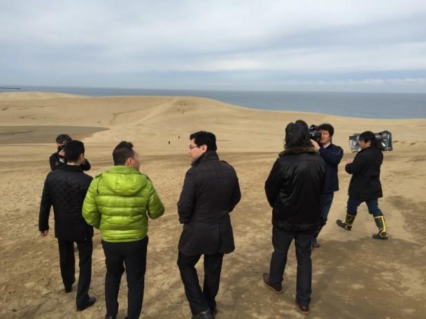 """鸟取的另外一个""""第一"""",就是拥有""""日本第一大的沙丘""""。(二)"""