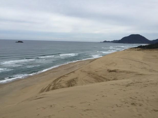 """鸟取的另外一个""""第一"""",就是拥有""""日本第一大的沙丘""""。(一)"""