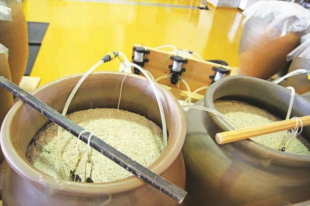 泡盛酒以泰国米为原料。