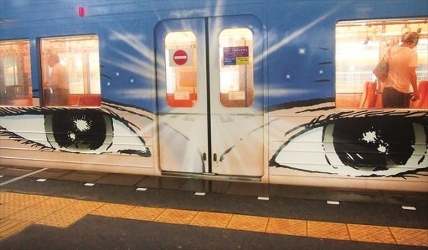 忍者列车。