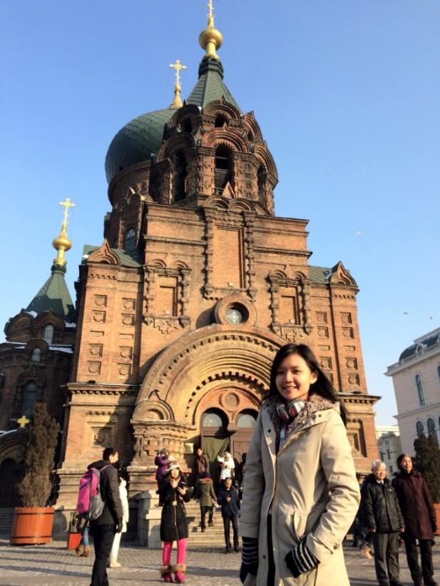 哈尔滨与俄罗斯近邻;教堂与建筑如同异国