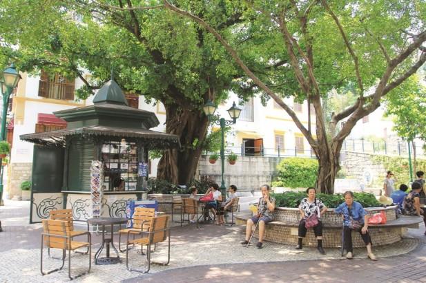 亚婆井是葡人在澳门最早的聚居地点之一。