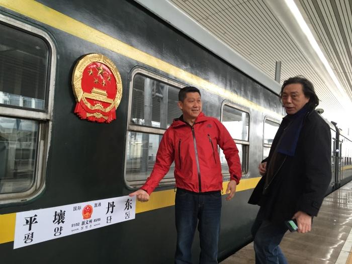《亚洲周刊》副总编江迅的第11次朝鲜深度考察,李桑荣誉随行。