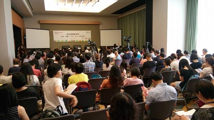 讲座会座无虚席。