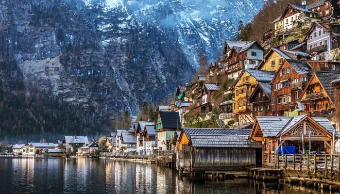 哈尔斯塔特村·奥地利
