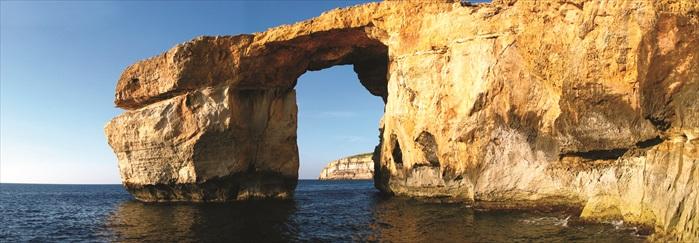 蓝窗拱门悬崖,马耳他