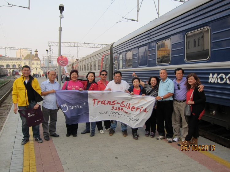 再次挑战:西伯利亚铁路9288公里!