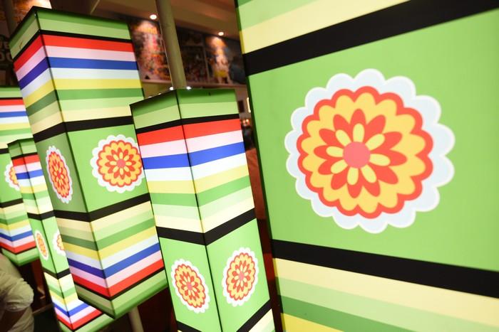 浓厚韩式传统色彩的也有。