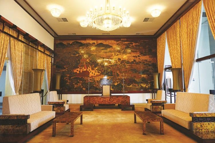 统一宫设有总统贵宾室、宴会厅、办公室等。