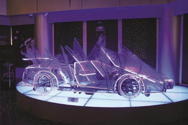 G——Dragon演唱会上登过场的水晶战车。