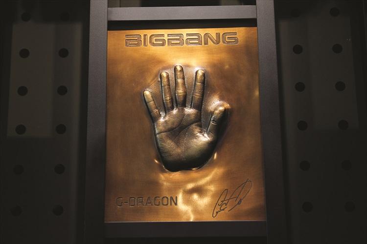 BigBang队长-G——Dragon的手模,有没有想贴上去看看?