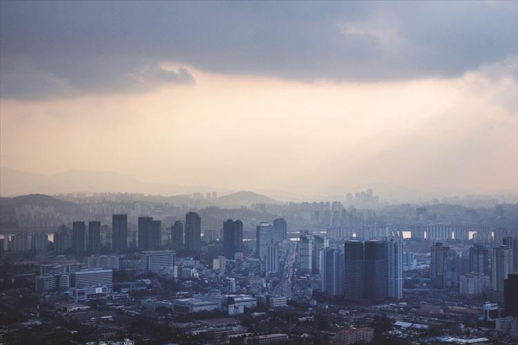 首尔一景。