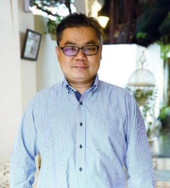 Le Apple精品酒店有限公司执行董事苏仕明。