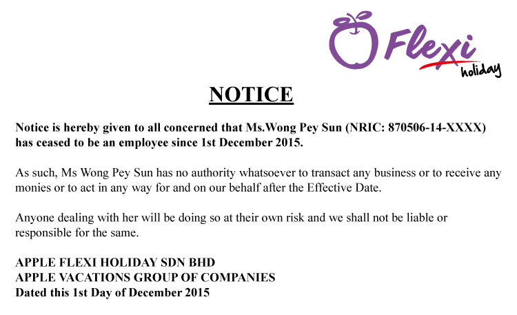 Notice-English