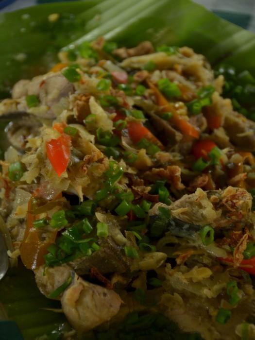 Kadasan Dusun的风味小菜。