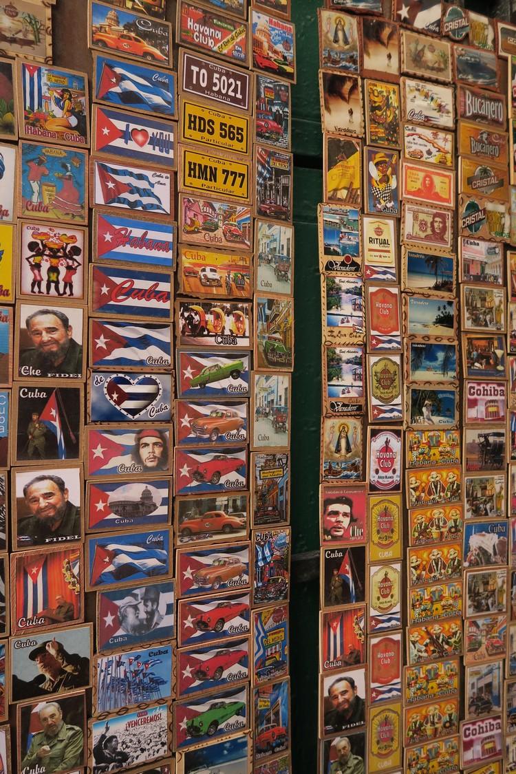 卡斯特罗与格瓦纳,是古巴旅游业的活动招牌。