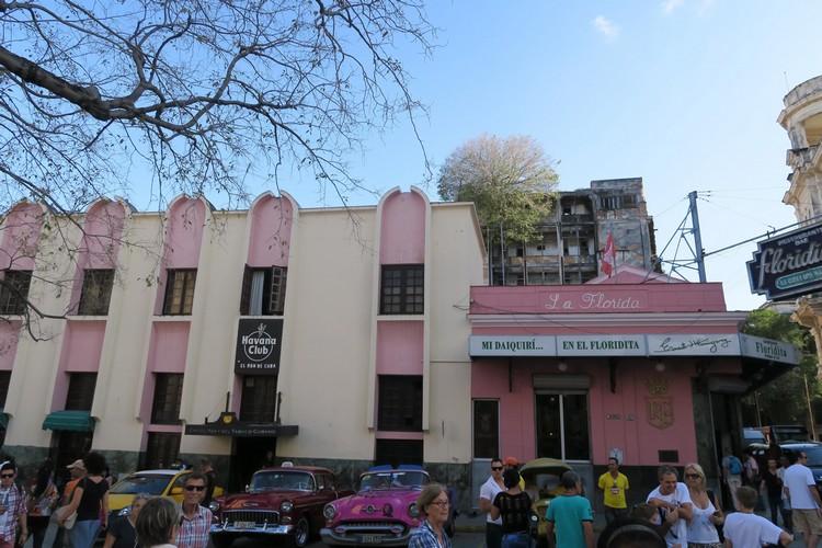 La Florida 酒吧,就是诺贝尔奖作家海明威的写作灵感出。