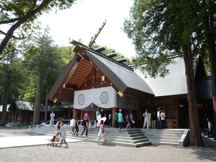 北海道神宫是当地社格最高的神社。