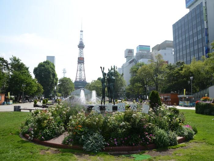大通公园,是当地大小型活动的重要场地之一。