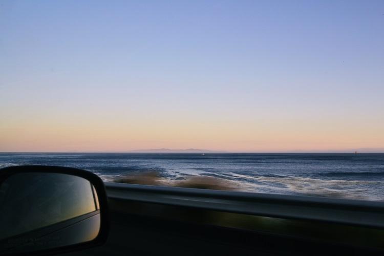 太平洋一路伴随我们,直到一号公路结束。