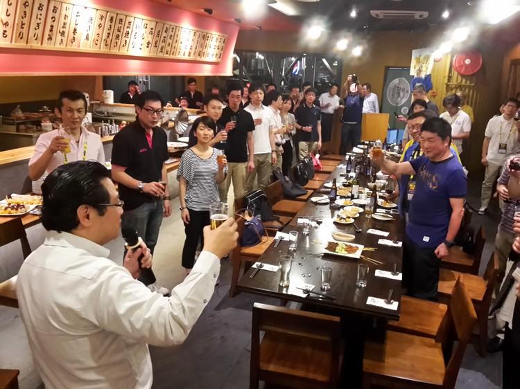 新加坡蘋果旅遊执行董事 张炳珊(Cheong san)感谢日本各界的支持,并希望能再接再励冲破新加坡旅日人数5000人大关。