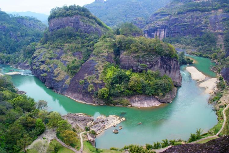 保持最自然美的原生态 - 九曲溪是也!