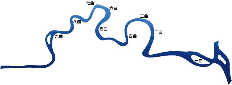 jiuquxi simple map
