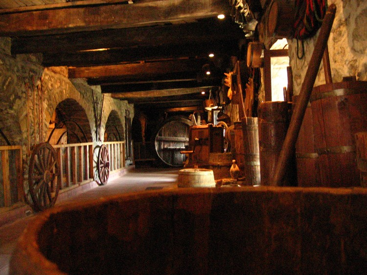米特奥拉修道院内部。