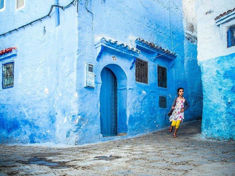摩洛哥的美尽在不言中。