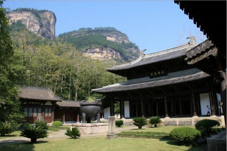 位于大王峰南麓 -- 武夷宫