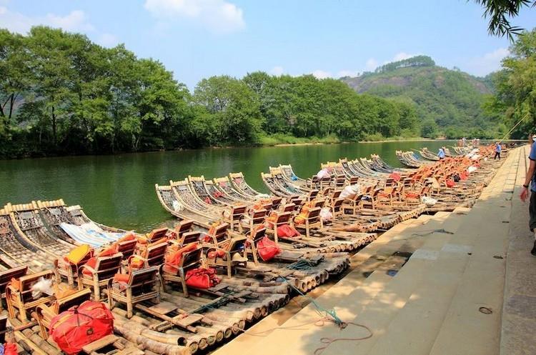wuyishan boat