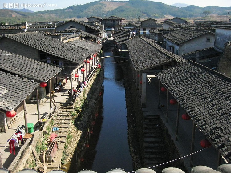 下梅村即景(三)