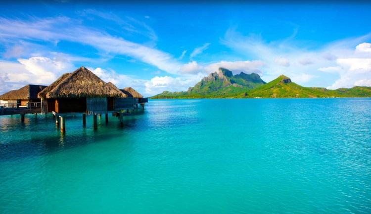 9) bora bora society island