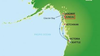 Alaska-Map juneau
