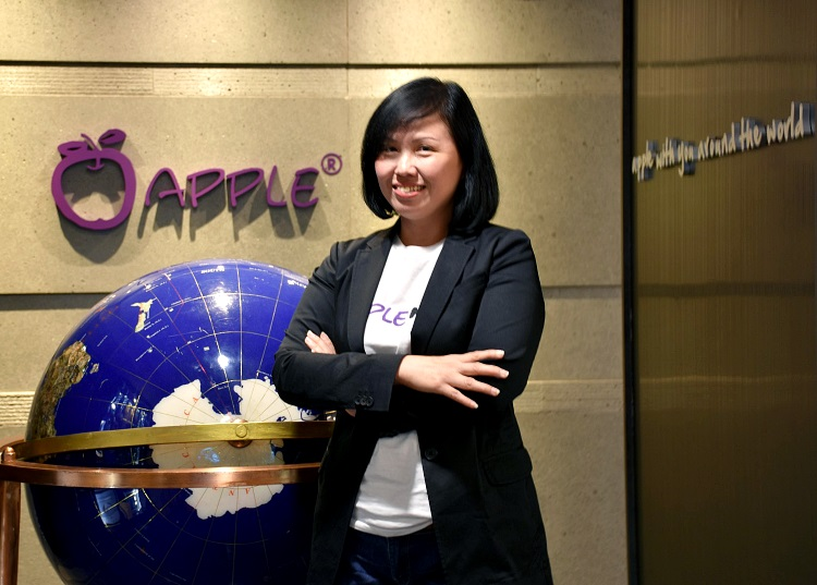 邓丽君(Gwen Teng) Apple Asia Holiday执行董事