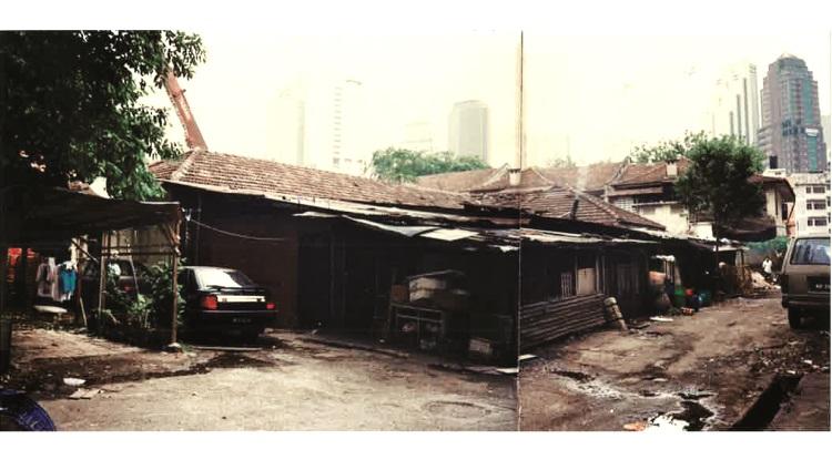 老房子最初的面貌。