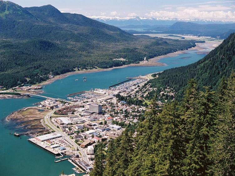 朱诺(Juneau)不是阿拉斯加最大的城市,但风景如画聚集于此!