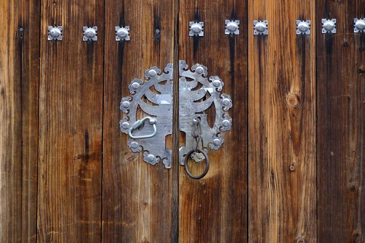 每一道门都拥有古典韵味。