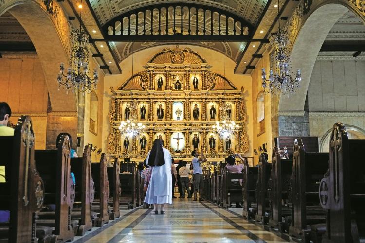 非常堂皇的圣婴教堂。