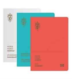 挪威设计采用不同色调的护照(图/neue)