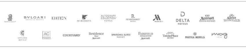 万国国际集团(Marriott International, Inc.)旗下酒店品牌(点图放大)