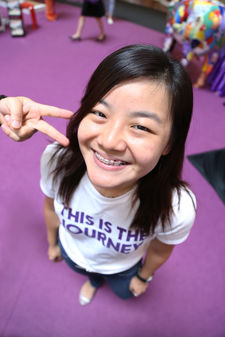 Carmen Lim, Apple MICE 1.我要开心地和大家欢庆蘋果20周年! 2.我想和更多以前的客人见面,5年前的客人还认得我呢! 3.我希望可以和同事们在这里并肩作战!