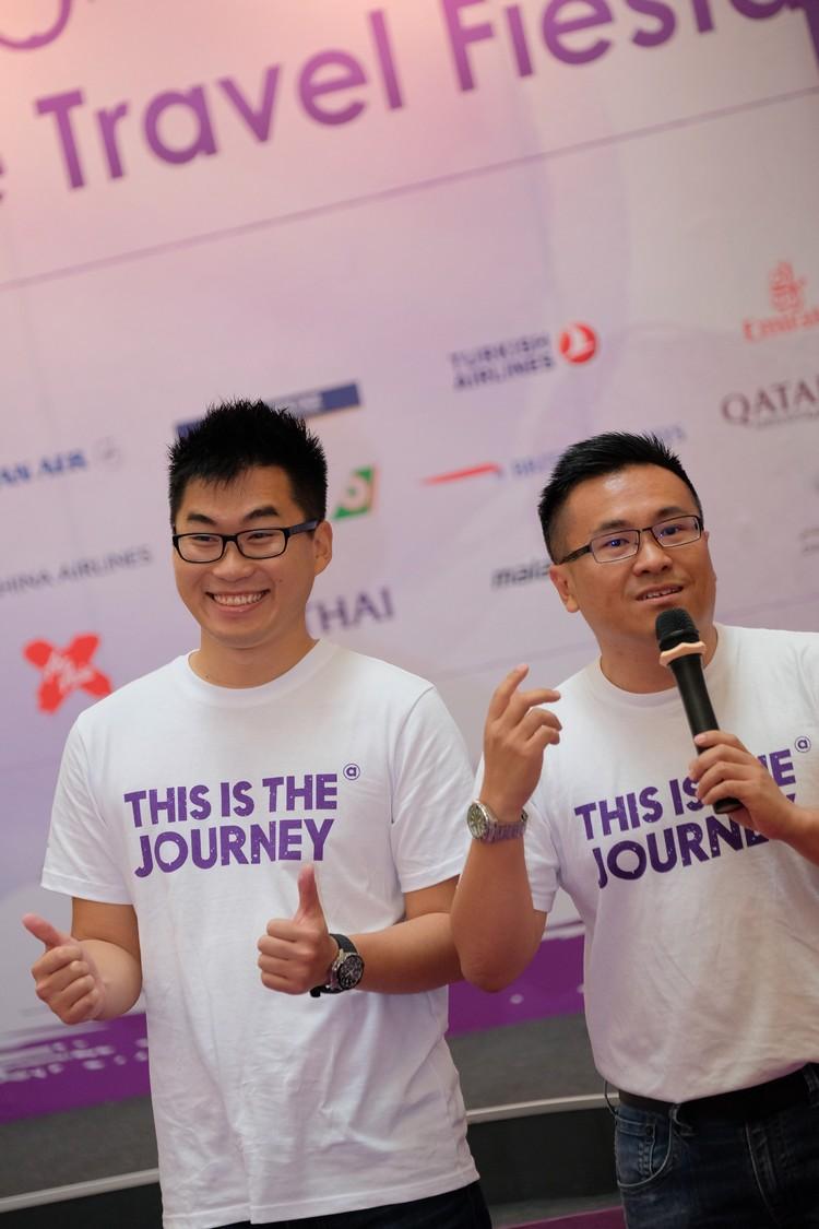 蘋果歐美产品管理副经理 卓锦威(Wai, 右)与 蘋果歐美 产品与市场副经理 钟泳健(YJ Chong)