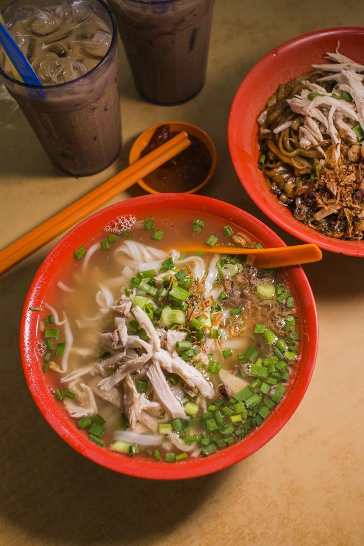 清汤河粉(RM3.80)