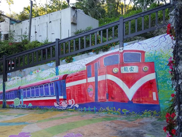 标志性的阿里山火车,出发啦!